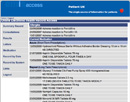 Screenshot of patient accessing the summary record of the test patient's GP electronic health record
