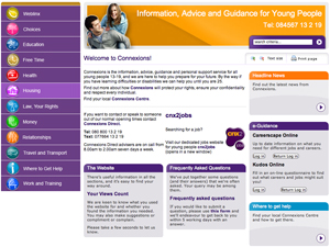 Connexions - Information, Advice and Guidance for Young People