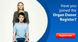 Register for Organ Donation with the the NHS Blood and Transplant service