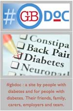 Simple questions, thought-provoking responses. Strengthening the diabetic community one Tweet at a time