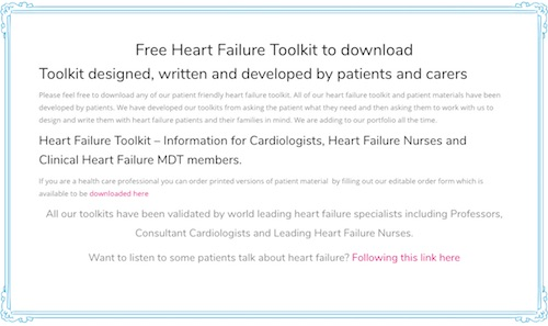 Heart Faiure Toolkit by Pumping Marvellous