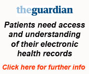 Guardian Article - Patients need access and understanding of their electronic health records